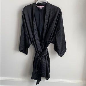 Victoria Secrets Black Kimono Robe